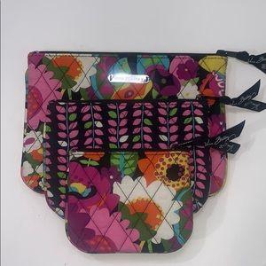 Set of three pouches Vera Bradley